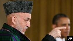 کرزی می گوید طالبان جنگ امریکا در افغانستان را به درازا می کشند