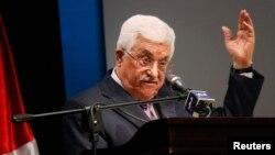 Palestinski predsednik Mahmud Abas, 2015.