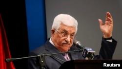 Rais wa Palestina Mahmoud Abbas