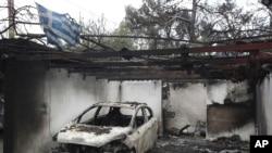 Izgorela kuća u Matiju