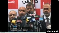 埃及宣布穆斯林兄弟会候选人穆尔西当选新总统