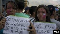 En Venezuela la falta de división de poderes es difícil pensar en un ensayo de libertad de prensa.