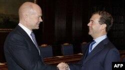 Уильям Хейг и Дмитрий Медведев
