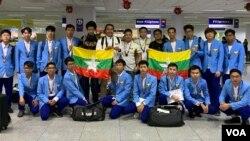 Myanmar Electronic Sports Team in Manila