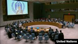 Le Conseil de sécurité à New York