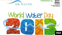 Cartaz do Dia Mundial da Água