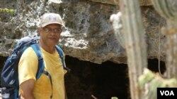 Juan Almonte habla de la tortuga terrestre de la Hispaniola
