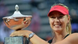 Maria Sharapova တင္းနစ္ကစားတာက အနားယူၿပီ