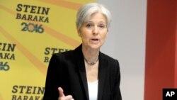 미국 대통령 선거의 녹색당 후보였던 질 스타인. (자료사진)