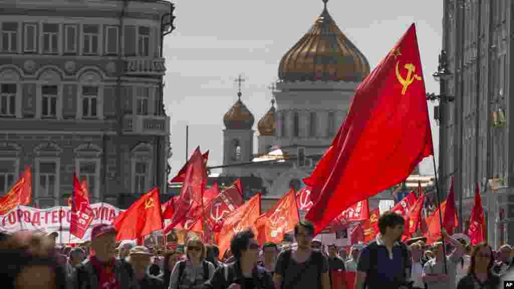 Babban Birnin Moscow ta kasar Rasha, ranar 1 ga watan Mayu, na 2017.