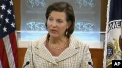 U.S. State Department spokeswoman Victoria Nuland.