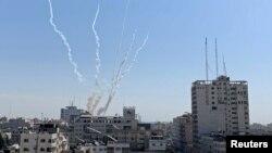 ibitero vya roketi ziva muri Gaza zigwa muri Isirayeli
