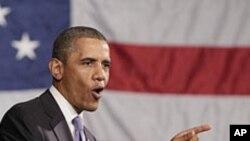 بحٹ خسارے میں کمی اور نئی ملازمتیں اولیں ترجیج ہیں: صدربراک اوباما