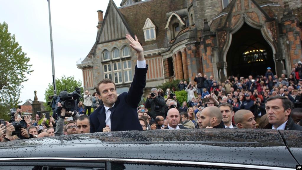 马克龙赢得法国总统大选
