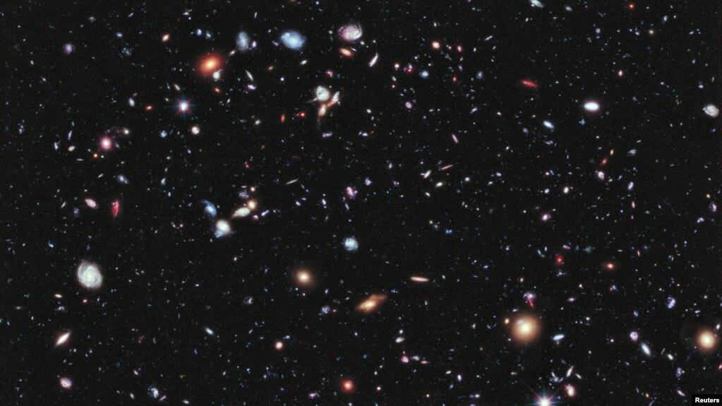 Teleskop hubble kirim foto bagian alam semesta terjauh