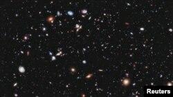 Поглед кон прапочетокот: фотографијата ХДФ на НАСА