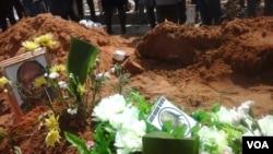 Angola wiza enterro