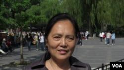 天安门母亲运动发言人尤维洁(资料照片)