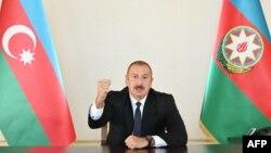 Президент Азербайджана Ильхам Алиев (архивное фото)