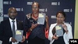 AbeAmnesty lnternational besethula umbiko wabo ka2015-16 wezamalungelo oluntu