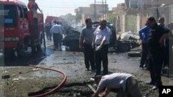 تصرف دوبارۀ یک قرارگاه پولیس توسط نیروهای عراقی