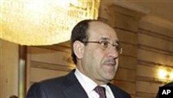 Iraqi Prime Minister Nouri al-Maliki (file photo – January 13, 2011)