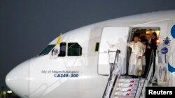 Papa Faransisiko Ageze muri Filipini