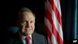 FILE - Alabama Chief Justice Roy Moore in Montgomery, Ala., Jan. 6, 2016. Moore was suspended for his efforts to block same-sex marriage, counter to a nationwide ruling by the U.S. Supreme Court.