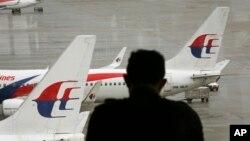 Aeropuerto de Kuala Lumpur de donde salió el avión que todavía no se sabe dónde cayó.