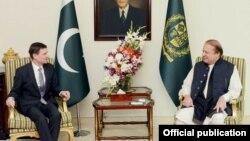 امریکی سفیر ڈیوڈ ہیل کی وزیراعظم نواز شریف سے ملاقات