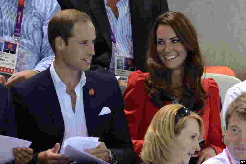 Принц Уильям и его супруга Кэтрин