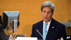 سخنرانی جان کری وزیر خارجه ایالات متحده در مقر بانک جهانی در شهر واشنگتن - ۲۶ فروردین ۱۳۹۵