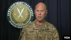 Doğal Kararlılık Operasyonu Sözcüsü Albay Sean Ryan