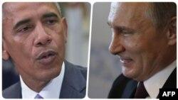 Barak Obama - Vladimir Putin