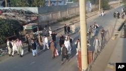 Wasu fursinonin da 'yan Taliban suka sako daga gidaan yarin Kunduz