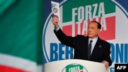 İtaliyanın keçmiş baş naziri Silvio Berluskoni