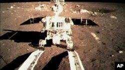 """Le rover chinois, """"Lapin de Jade"""""""