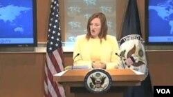 Jen Psaki, juru bicara Departemen Luar Negeri AS (Foto: dok).