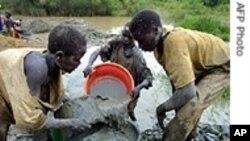 On trouve aussi des enfants sur les sites miniers en RD-Congo