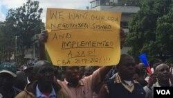 Abigisha ba Kaminuza muri Yegereyegere muri Kenya
