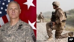 تورن جنرال تیری قوماندان عمومی قوای ناتو در جنوب افغانستان