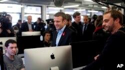 En su comunicado, ¡En Marche! declaró que los documentos que se divulgaron mostraban sólo el funcionamiento normal de una campaña presidencial.