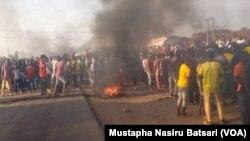 Zanga-zangar Nuna Takaicin Rashin Tsaro A Jihar Nejan Najeriya