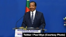 Paul Biya, presidente camaronês