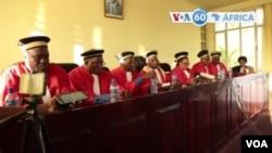 Les membres de la Cour Constitutionnelle du Burundi