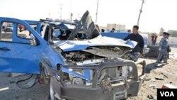 Sebuah aksi kekerasan baru-baru ini di Ramadi. Menurut sebuah organisasi di Inggris, jumlah korban sipil di Irak tahun ini terendah sejak awal perang.