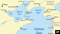 한국과 인접한 중국 보하이해.