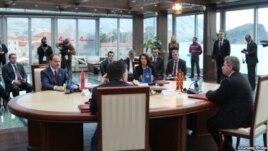 Učesnici Samita predsednika država regiona u Budvi