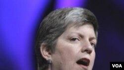 Menteri Keamanan Dalam Negeri AS, Janet Napolitano