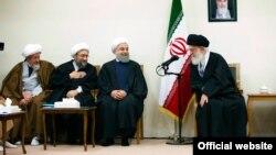 L'Iranien Sadegh Larijani, chef du pouvoir judiciaire en Iran.